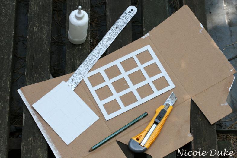 Домик из картона для барби своими руками